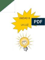 Unidad 8 La Luz