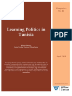Learning Politics in Tunisia (Viewpoints No. 26)