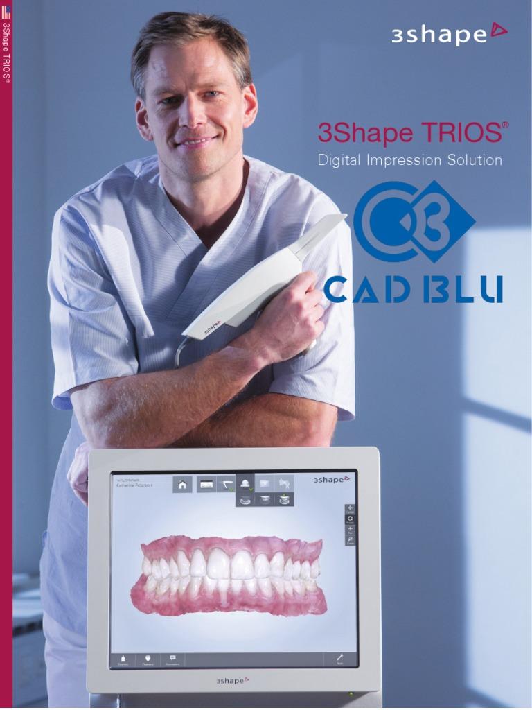 CadBlu TRIOS Brochure US Email 2013 | Image Scanner | Dental Implant