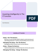 Investing Intelligently In The IT Function