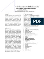 Solving Power Flow Problems With a Matlab Implementation of the Power System Applications Data Dictionary