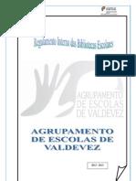 Regulamento BE 2012 2013
