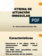 Doctrina de Situacion Irregular c