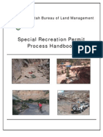 Special Recreation Permit Handbook Utah BLM