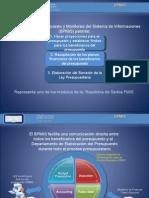 La preparación del presupuesto y el monitoreo del sistema de información