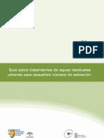 Guias sobre tratamientos de aguas residuales urbanas para pequeños nucleos de poblacion