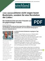 Ramminger - Wir demonstrieren für eine Revolution der Liebe