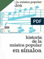 Historia de La Musica Popular en Sinaloa