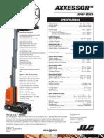 Axxessor 15DVSP Series Spec Sheet