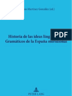 Historias de Las Ideas Linguisticas Gramaticos Meridional