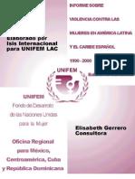 America Latina - Informe Sobre La Violencia Contra La Mujer en America Latina y El Caribe