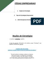 ESTRATÉGIAS EMPRESARIAIS - 3