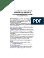 Parasitosis Estado Nutricional