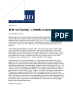 14-07-13 Trayvon Martin