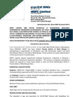 NHPC Ltd Recruiting Engineers