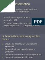 Informatica - Clasificacion