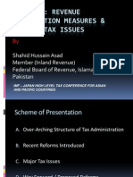 ISSUES OF TAXATION IN PAKISTAN AND ITS SOLUTIONS