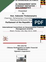 Government for Informed Citizens Tinadamnyire Kabondo