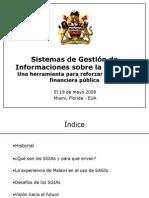 Las Respuestas de los países a la crisis financiera Ngwira