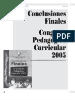 Conclusiones Finales Congreso Pedagogico28