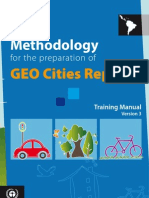 GEO Cities Methodology
