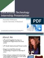 edutechinternshippresentationsamanthaschleupner