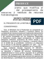 D.S. Nº 017-2011-PRODUCE