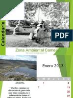 Calendario 2013 Zona Ambiental
