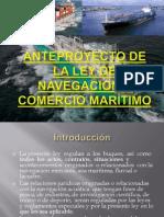 Anteproyecto de La Ley General de Navegacion y Comercio
