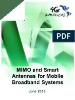 MIMO andMimo  Smart Antennas_July 2013_FINAL