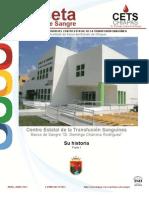 Gaceta Banco de Sangre 01-2013