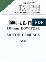 TM 9-744  155 MM M41