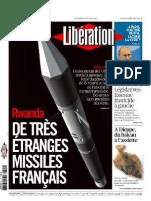 De tres etranges missiles francais Liberation 1 Juin 2012