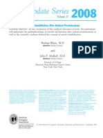Post Radical Prostatectomy Penile Rehabilitation - AUA Update Series 2008