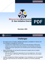 Disaster Management Overview Presentation