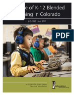 The Rise of K-12 Blended Learning in Colorado