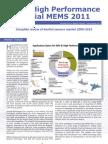 IMU High Perf Inertial MEMS Report 2011