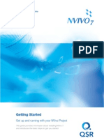 NVivo7 Getting Started Guide