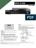 c Ft 2100 User Guide