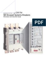 SiemensInsulatedCaseCircuitBreakersSB Info Instr Guide Electronic Trip Unit