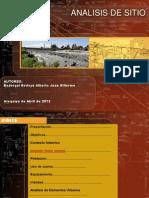 Analisis de Sitio Rivera Rio Chili