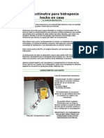 Conductímetro para hidroponia hecho en casa