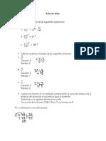 Solución taller matematicas