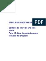 SSB10 Guía para el pliego de condiciones del proyecto