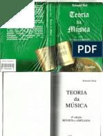 Bohumil Med TEORIA DA MÚSICA 4ª Edição Revista e Ampliada