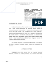 13-Julio-2013-Dict-ley Del Fomento Del Uso de La Bicicleta