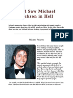 A Girl Saw Michael Jackson in Hell ● Girl Saw Christians in Hell ● Vision of Hell ● Angelica Zambrano ● Pastors in Hell