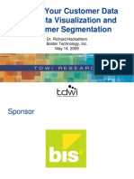 Data Visualization and Customer Segmentation Slides 2009