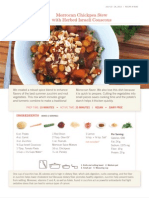 Moroccan Chickpea Stew with Herbed Israeli Couscous (2 Portions)
