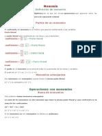 Formulas Algebraica